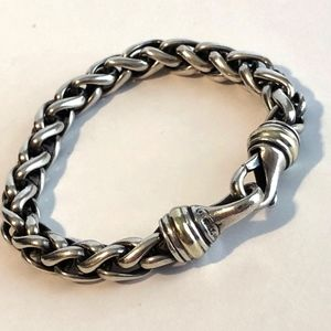 David Yurman SS Wheat Chain Bracelet